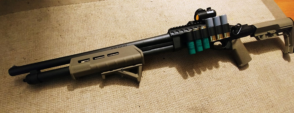 Remington 870 Tactical with MFT minimalist stock
