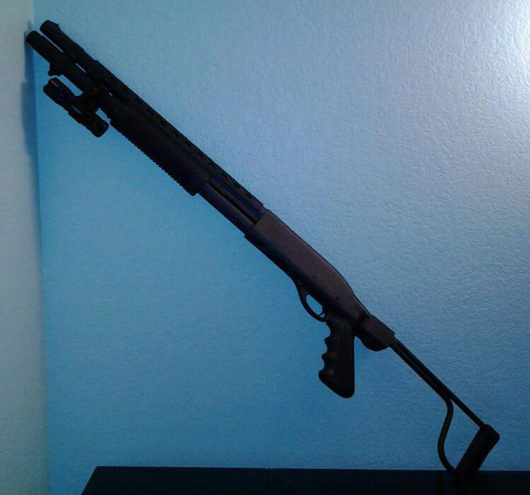 Remington 870 with Folding Stock