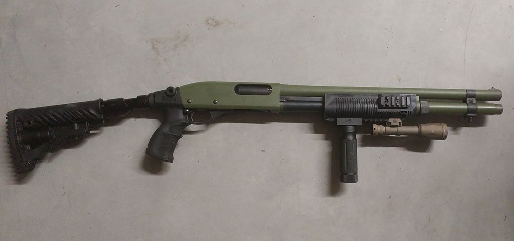 Remington 870 OD Green