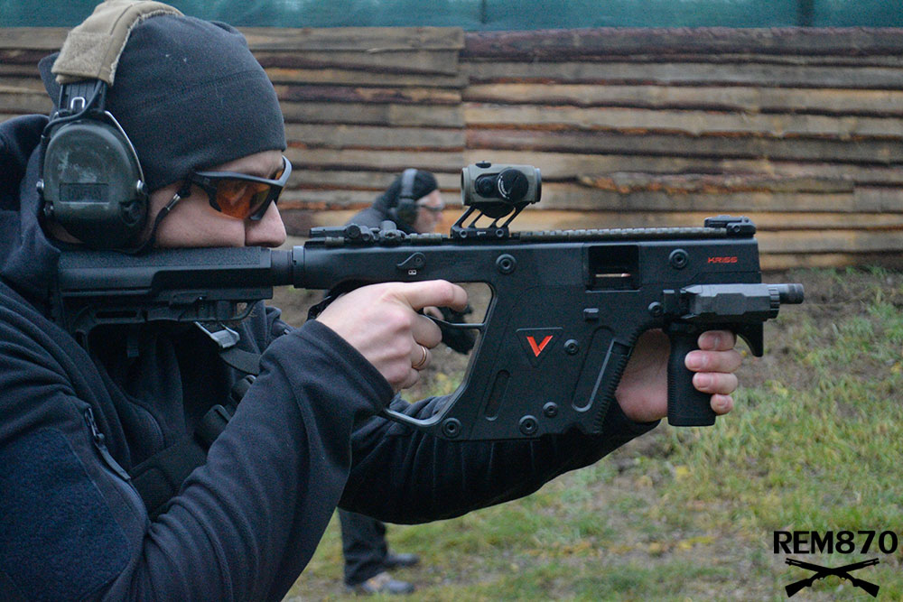 Kriss Vector Submachine Gun with Red DotKriss Vector Submachine Gun with Red Dot