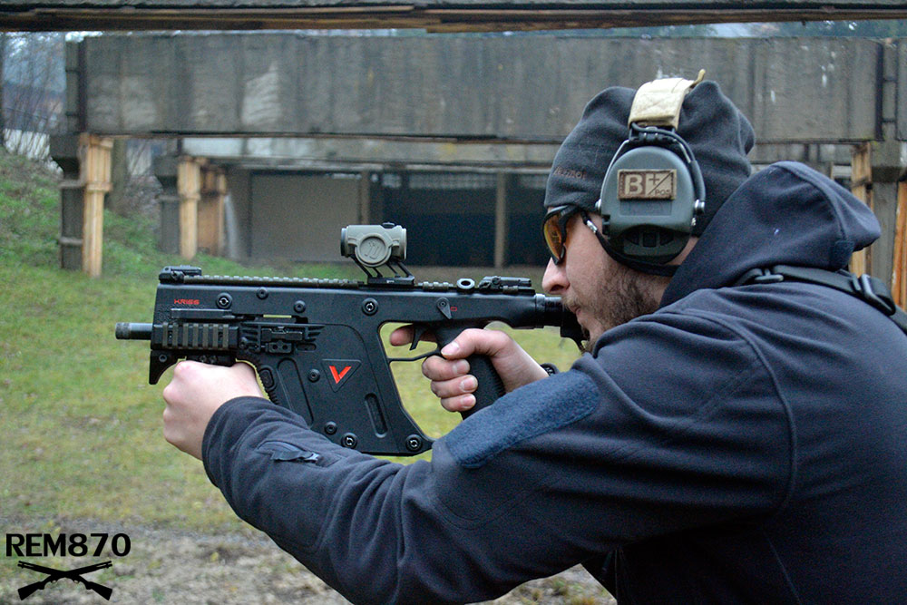 Kriss Vector Submachine Gun with Red Dot