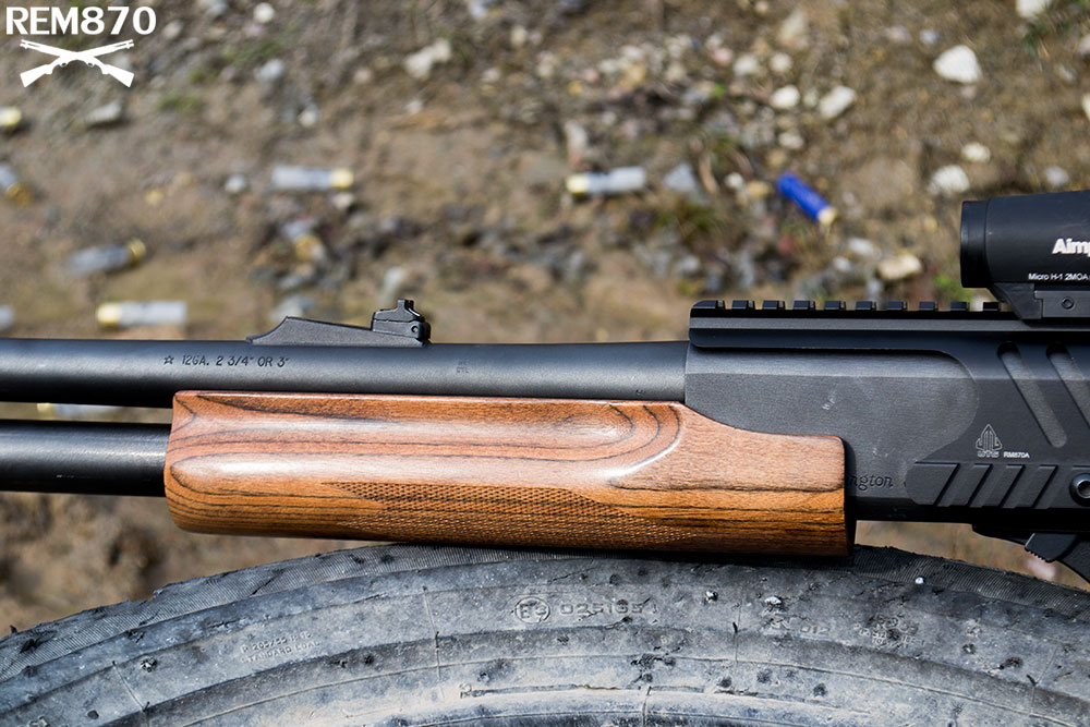 Remington 870 with Wood Forend