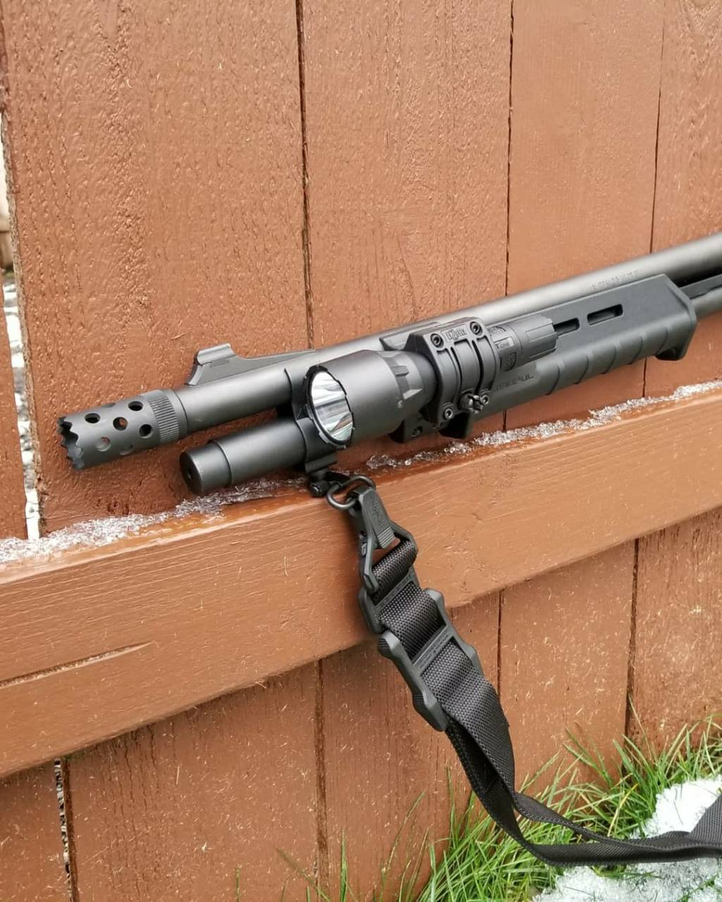 Remington 870 Tactical Home Defense (HD) build
