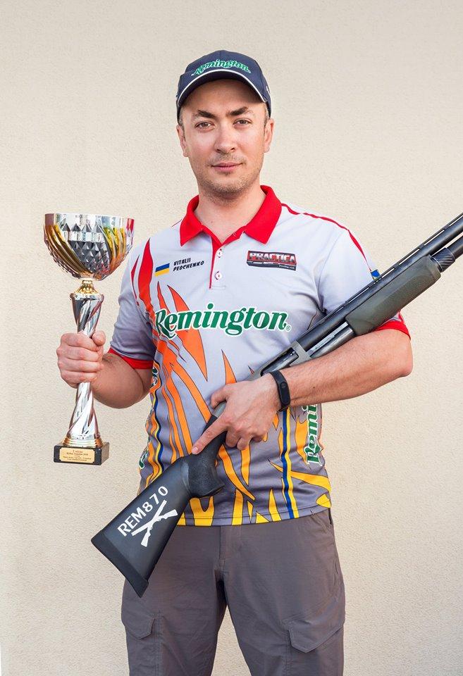 Vitaly Pedchenko, winner, Shotgun Cup Ukraine