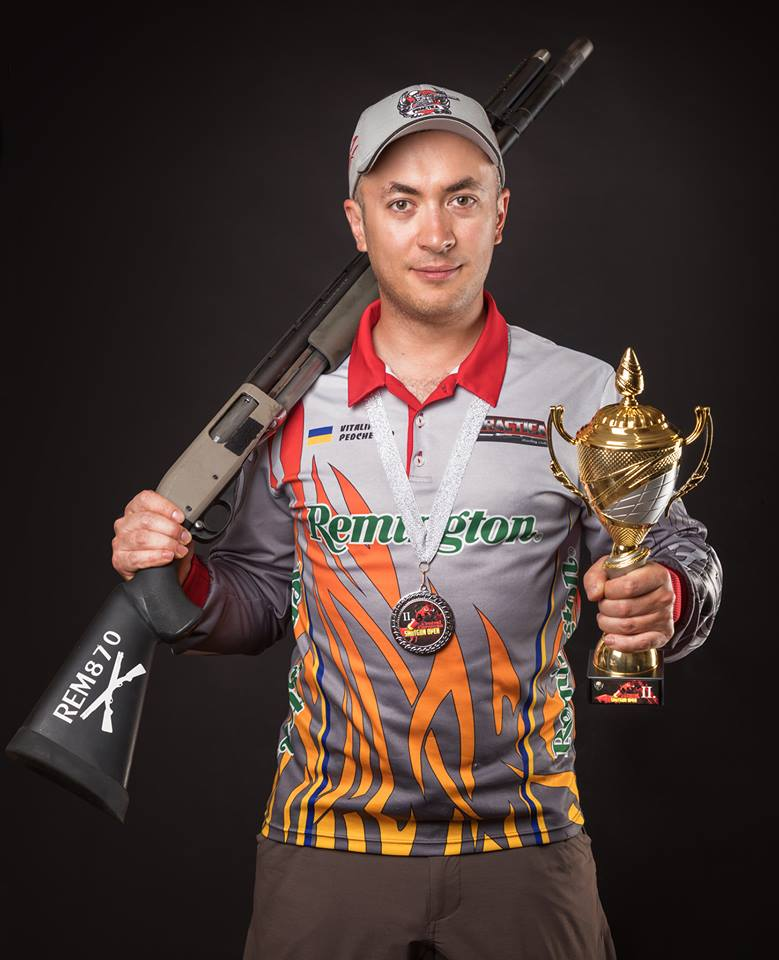 Vitaly Pedchenko on Central European Shotgun Open