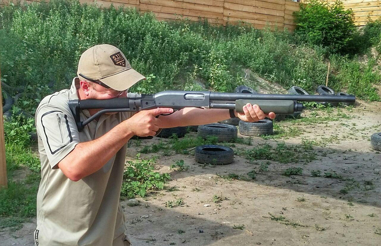 Double Star Stock on Remington 870