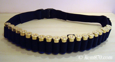 Shotgun Bandolier (Bandoleer) (Shotgun Shell Belt)