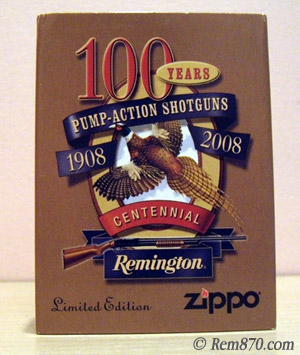 Remington 100th Year Anniversary