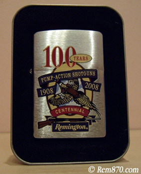 Remington Zippo Anniversary Lighter