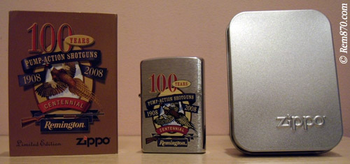 Remington Zippo Lighter