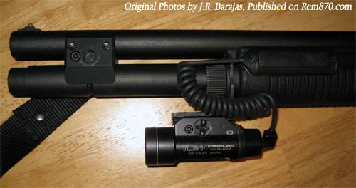 Streamlight TLR-1 and Mesa Tactical Clamp