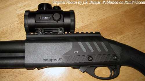 Tactical Remington 870 Shotgun Photo