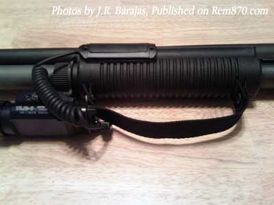 Remington 870 Photos, Sage International Extension, Forend Strap, Vang Comp Follower
