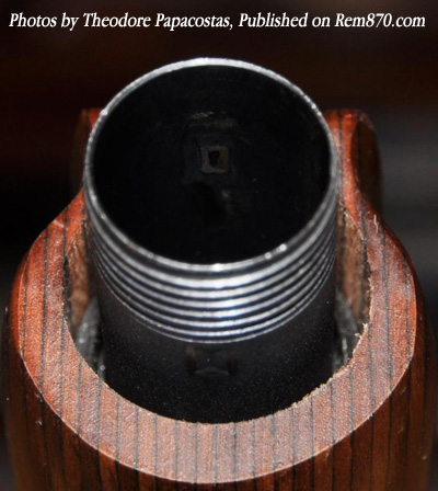 Unblued Finished Tube Inside (after dimples removal)