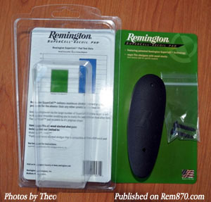 Remington Supercell Recoil Pad