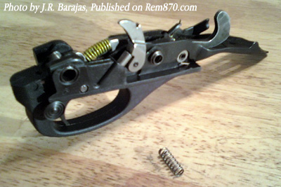 Remington 870 Sear Spring Replacement