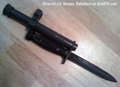 Remington 870 Bayonet Mount