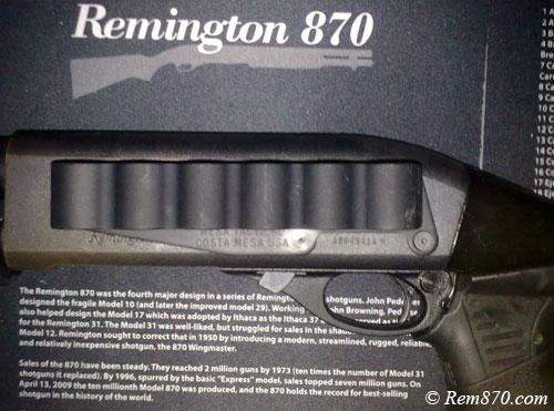 Mesa Tactical Sureshell Shotshell Ammunition Carrier 12-Gauge Remington 870
