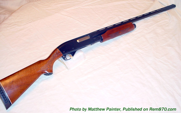 Remington 870 Before