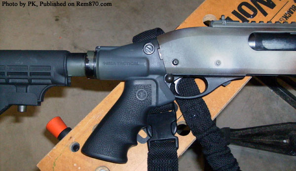 Remington 870 Express Tactical with Mesa Stock and Vang Safety