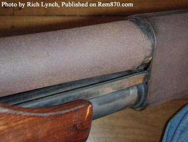 Rusty Remington 870 Wingmaster