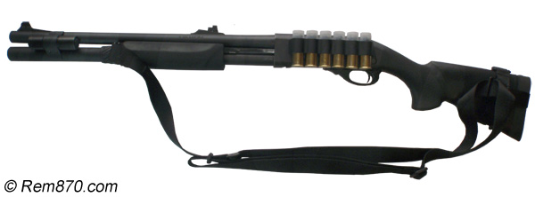 Remington 870 for Home Defense (Tactical Accessories)