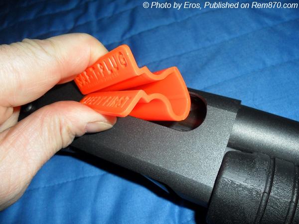 Saf-T-Plug for Shotgun