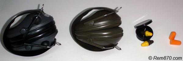 Shooting Hearing Protection (Earmuffs, Electronic Earmuffs, Earplugs, Combat Earplugs)