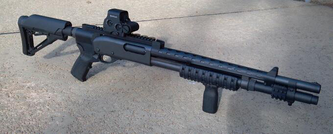 Tactical/Home Defense Remington 870, Mesa Tactical and other upgrades