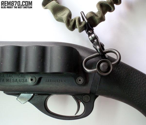 Ambi QD Sling Plate for Remington 870