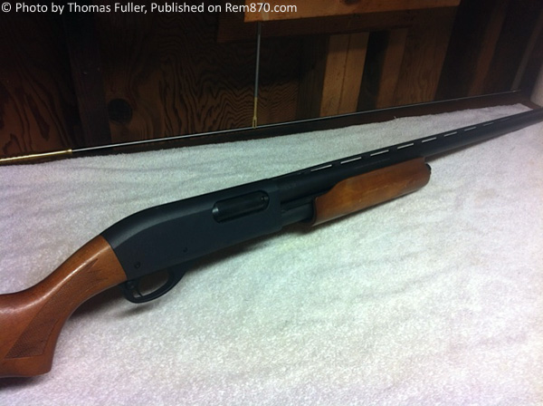 Remington 870 Express Magnum, 1970′s Model, Vented Rib Long Barrel and Wood Furniture