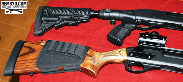 Remington 870 Stocks