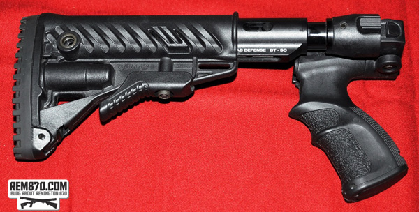 FAB DEFENSE Remington 870 M4 Folding Shock Absorbing Collapsible Buttstock and Forend Rail System