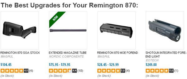 Best Upgrades for Remington 870