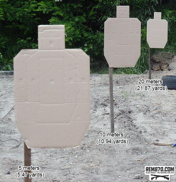 Shotgun Buckshot Pattern
