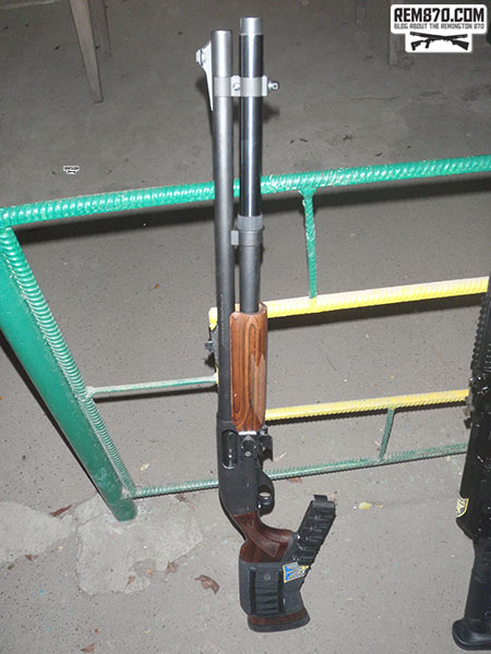 Remington 870 for Competition Shooting (IPSC)