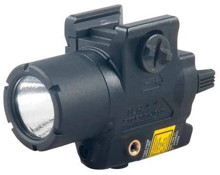 New Streamlight TLR-4 Flashlight and Laser Combo for Handguns!