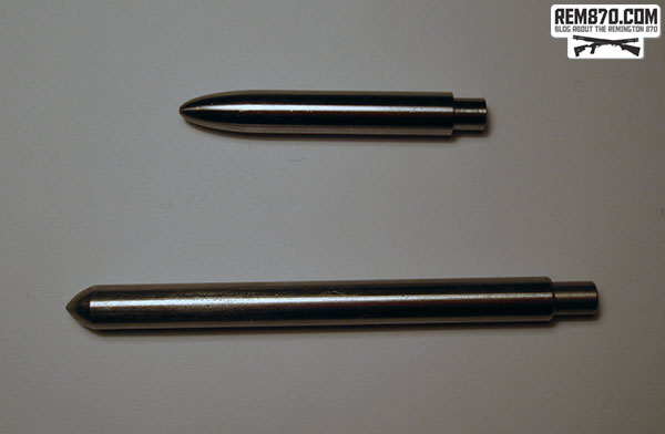 Carrier Pivot Slave Pin and Silver Bullet