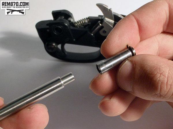Silver Bullet, Carrier Tube, Preparing