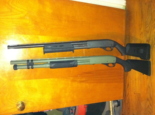 Magpul and Hogue Forends and Stocks for Remington 870