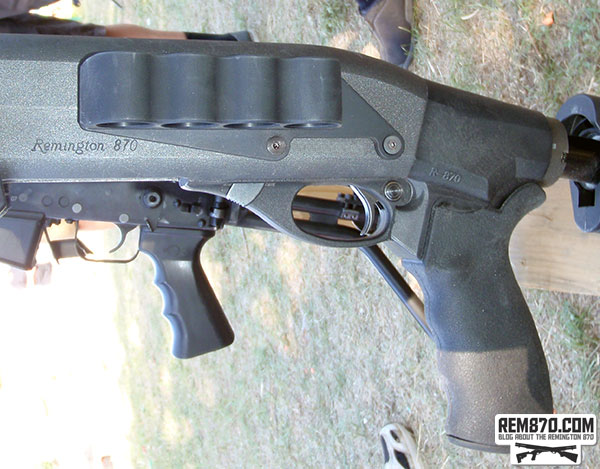 Mesa Tactical 4-Round Shotshell Holder for Remington 870