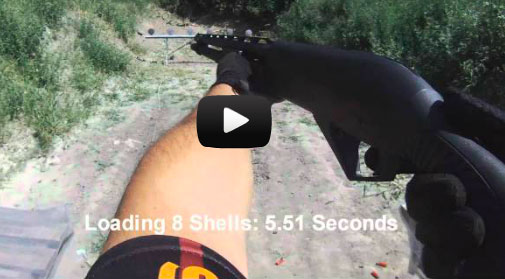 Loading Shotgun Using Load-Two Belt