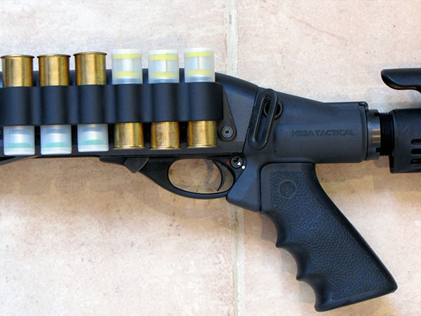 Remington 870 Shellholder and Stock from Mesa Tactical