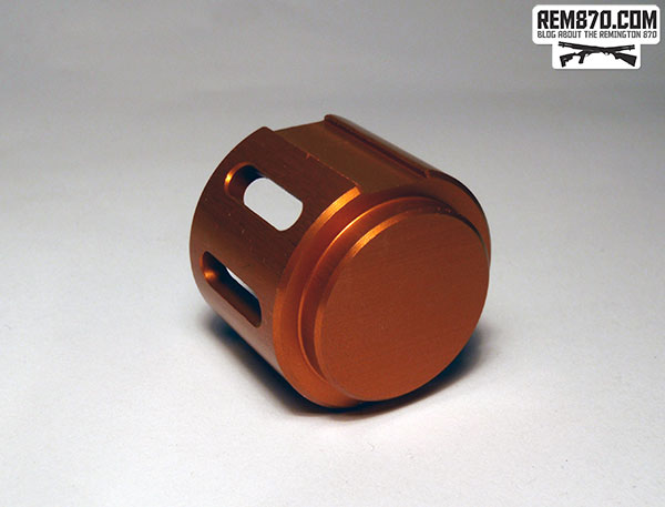 Brownells Orange Aluminum Follower
