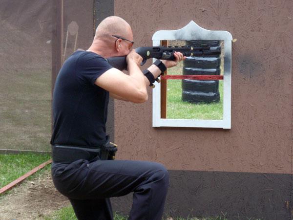 Shooting Through Window