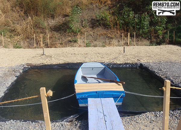 Hungary World Shoot 2012, Buckshot Stage with Boat