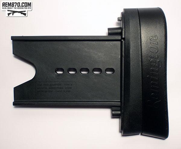 Mapgul SGA Butt Pad Adapter and Remington Supercell Pad