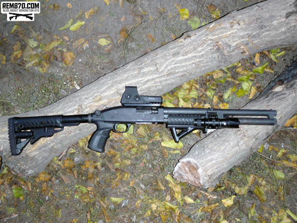 Mossberg 590 Tactical Upgrades and Accessories