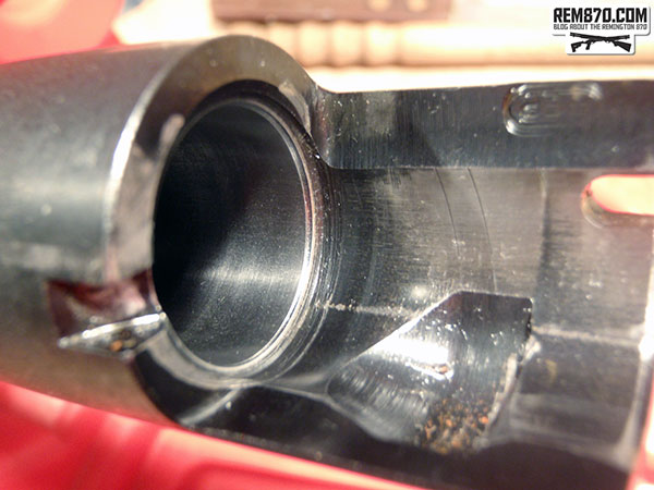 Remington 870 Chamber Polishing