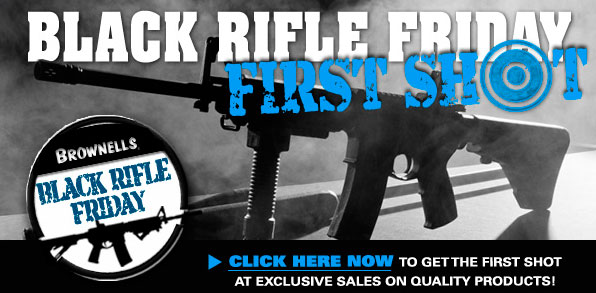 Black Rifle Friday Deals on Brownells!